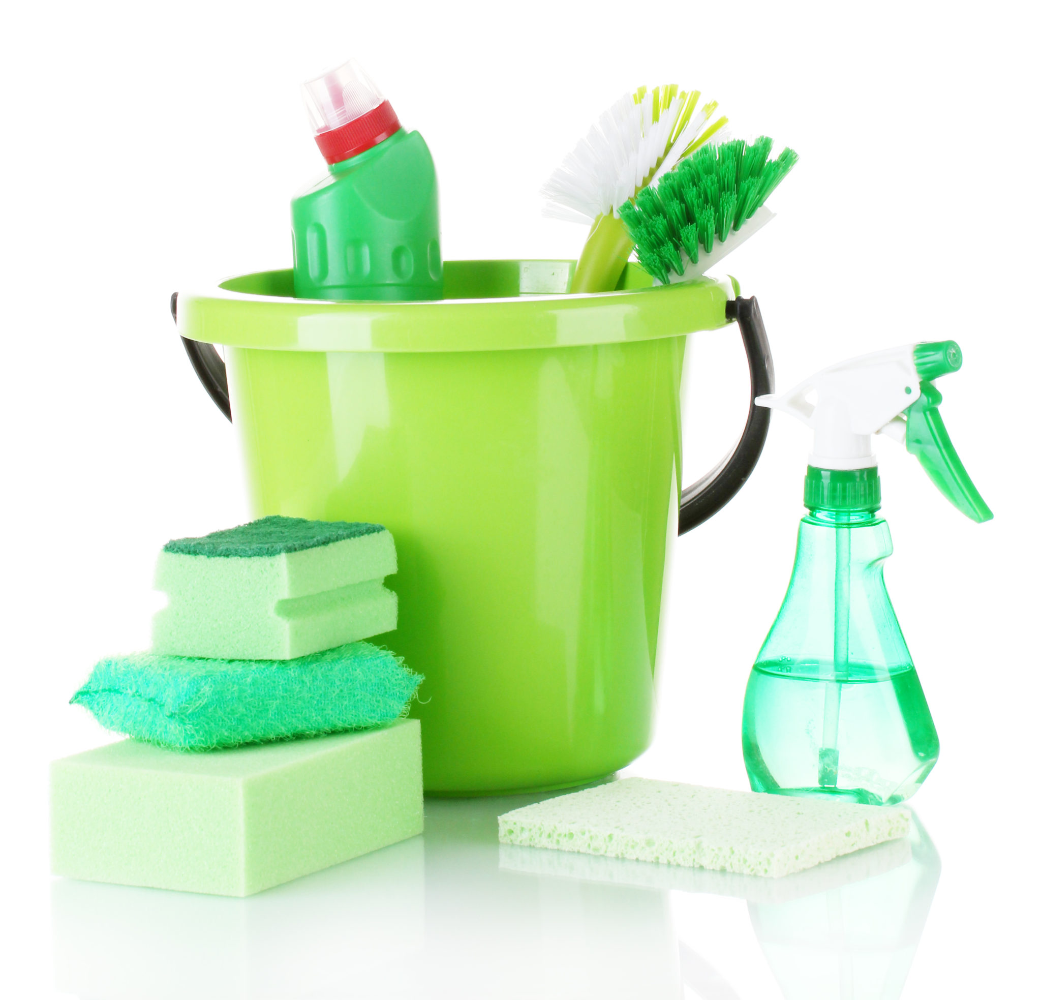 green cleaning products use by green ladies cleaning services